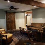 barn door for guest